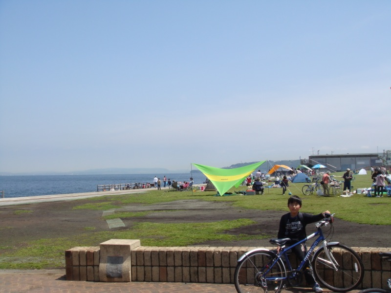 三笠公園からは「よこすか海岸 ...