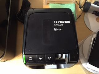 燦然と輝くTEPRAのロゴ